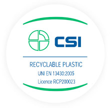 CSI recyclable plastic